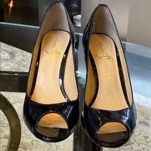 Ivanka Trump open toe heels